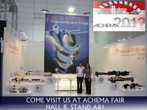 Achema we are awaiting you! Come to visit us